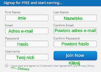 ClixSense — Rejestracja