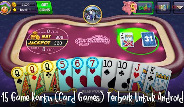 15 Game Kartu (Card Games) Terbaik Untuk Android