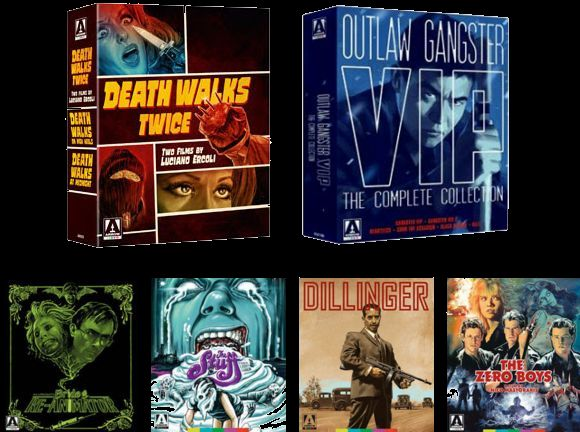 Arrow Video April Releases