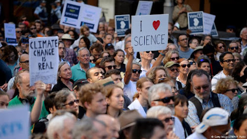 March for Science protesters hit the streets worldwide