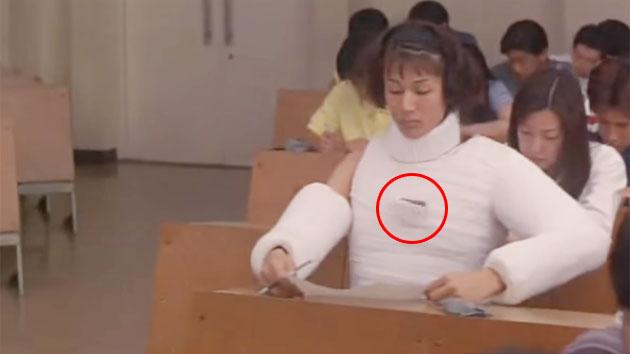 Video: Pelajar Jepang Menunjukkan Aksi Kerja Sama dalam Membuat Contekan Saat Ujian
