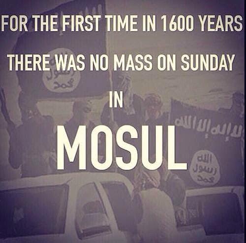 Ultimatum ISIS: Pindah Islam, Bayar Jizyah atau Mati! Warga Kristen Irak Pilih Meninggalkan Kota