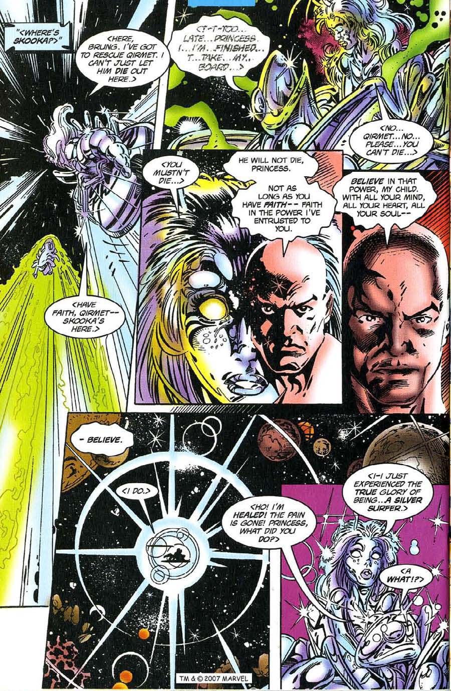 Read online Silver Surfer (1987) comic -  Issue #117 - 24