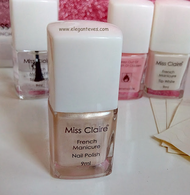 Review of Miss Claire French Manicure Kit