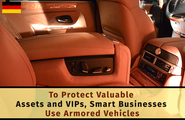 To Protect Valuable Assets and VIPs, Smart Businesses Use Armored Vehicles
