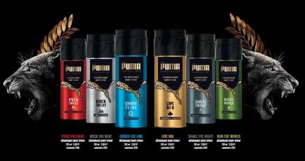 Bolt y Griezmann imagen de los nuevos desodorantes de Puma