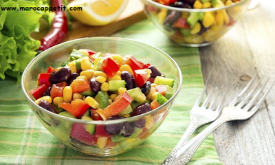 Recette facile et rapide de salade mexicaine | Quick and easy mexican salad recipe
