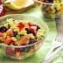 Recette facile et rapide de salade mexicaine |<br>Quick and easy mexican salad recipe
