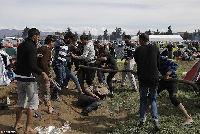 Μαχαιρώματα μεταξύ προσφύγων στο Κιλκίς