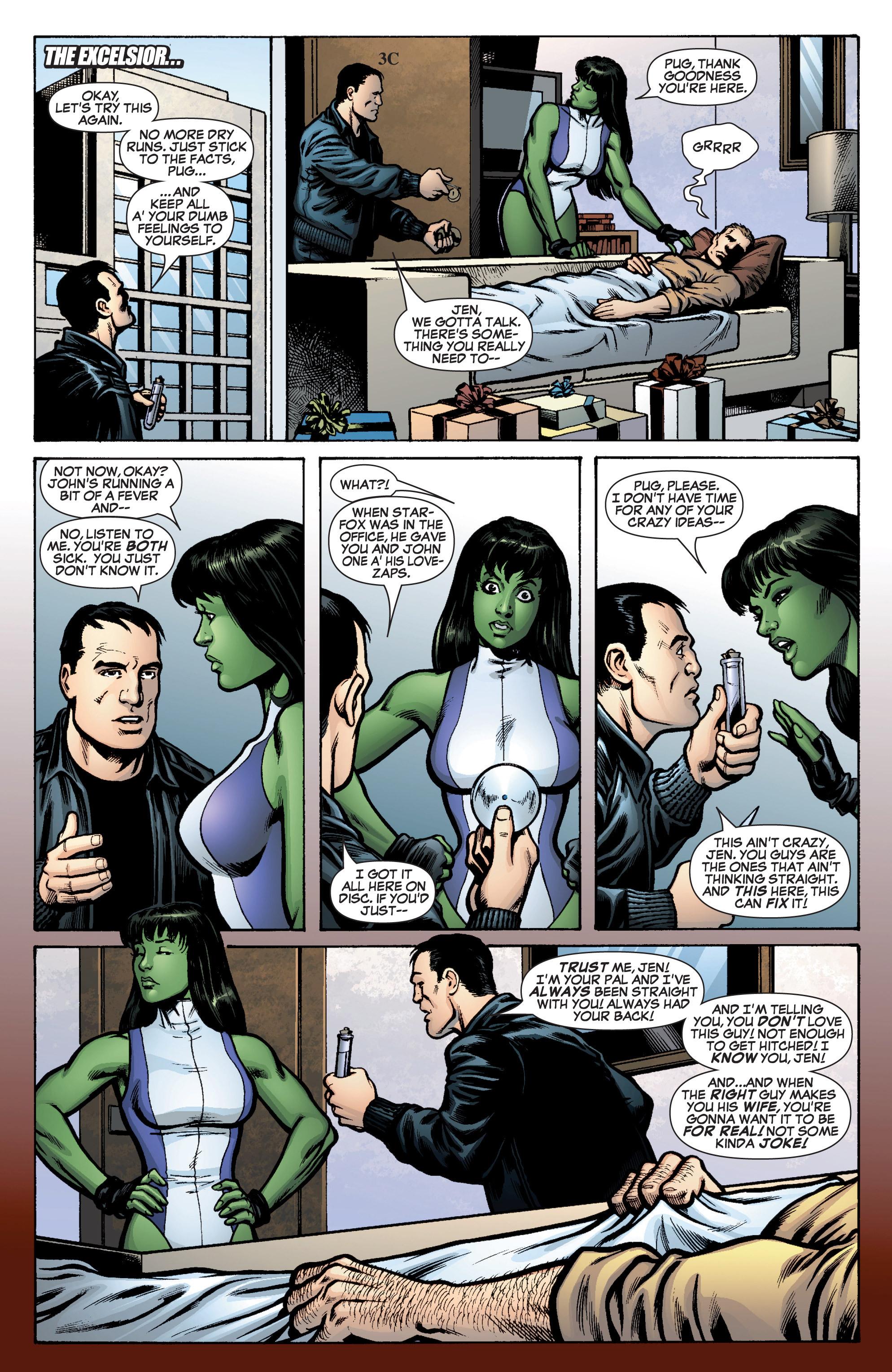 Read online She-Hulk (2005) comic -  Issue #10 - 17