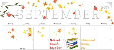 Celebrare #ReadaBookDay and #LiteracyDay #InternationalLiteracyDay #ILD - Please share this image to remind everyone.