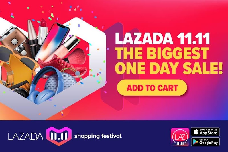 11.11 Shopping Festival - THE BIGGEST ONE DAY SALE KINI BERMULA!