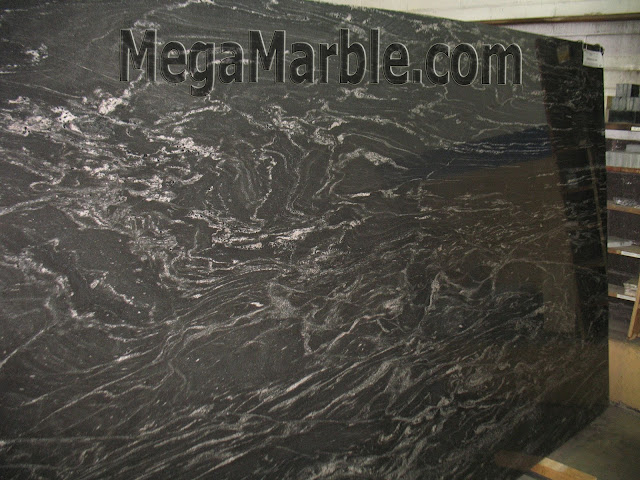 Black Storm Granite Slabs For Countertops