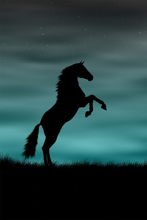 iPhone 4 Wallpaper 馬 [640px - 960px] : 幻想的なゴシック