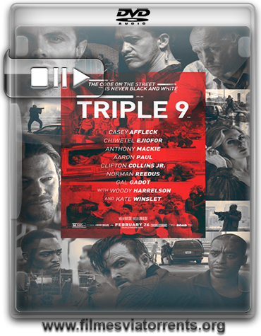 Triplo 9 (Triple 9) Torrent - BRRip Legenddo (2016)