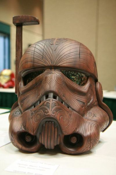 Pretty Awesome Storm Trooper Carving