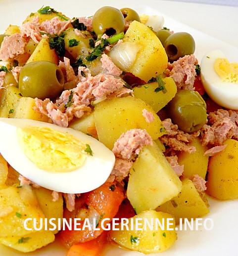 Salade De Pomme De Terre Au Thon Cuisine Algerienne
