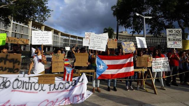 """Puertorriqueños piden """"la descolonización de la isla"""" en Día de Independencia de EEUU"""