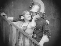 """Эдна Первайэнс и Лео Уайт в к/ф """"Пародия на Кармен"""" / Burlesque on Carmen (1916) - 9"""