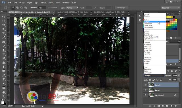 Cara mudah membuat photo kembar di photoshop