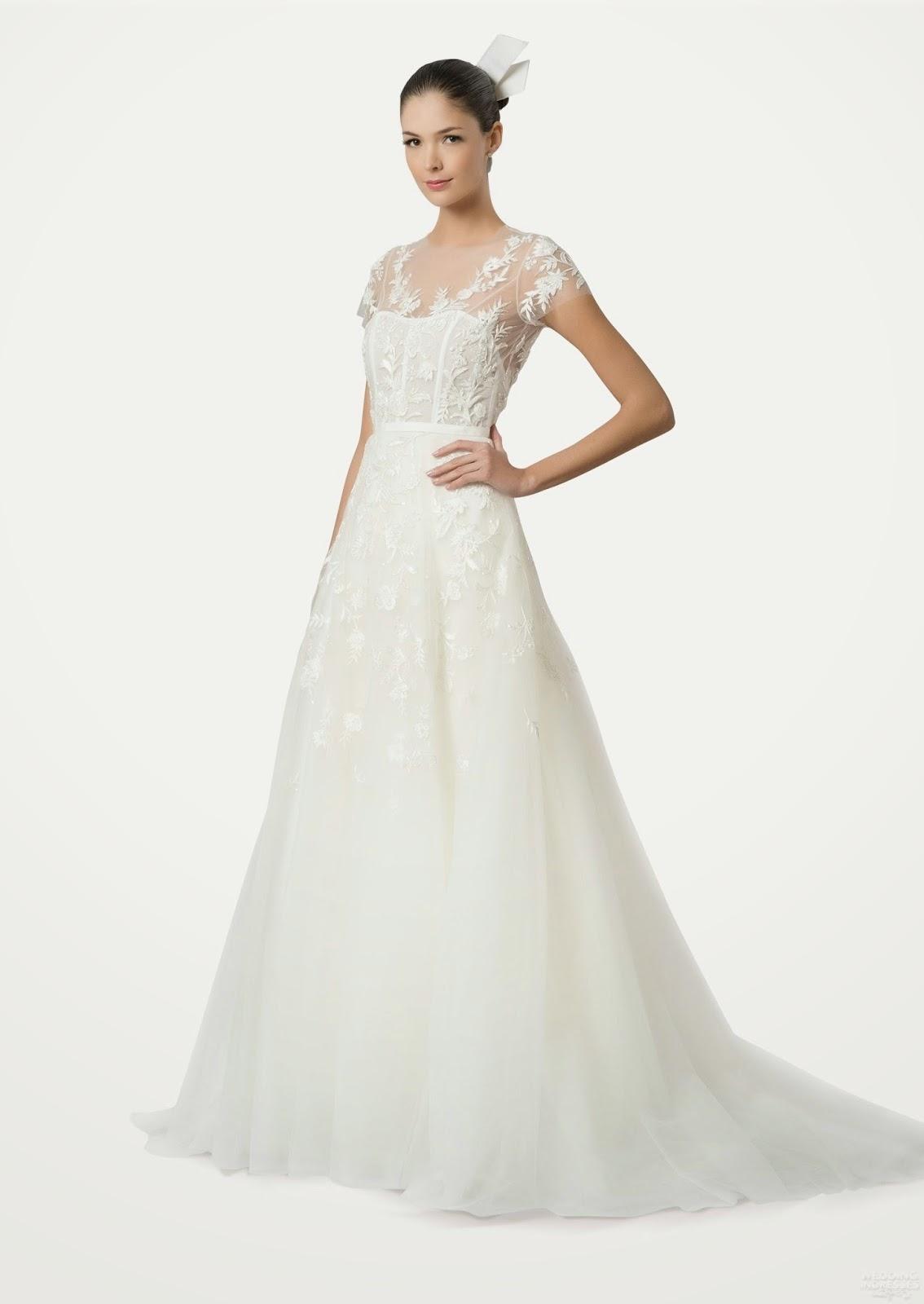 Carolina Herrera Bride Dresses 2015