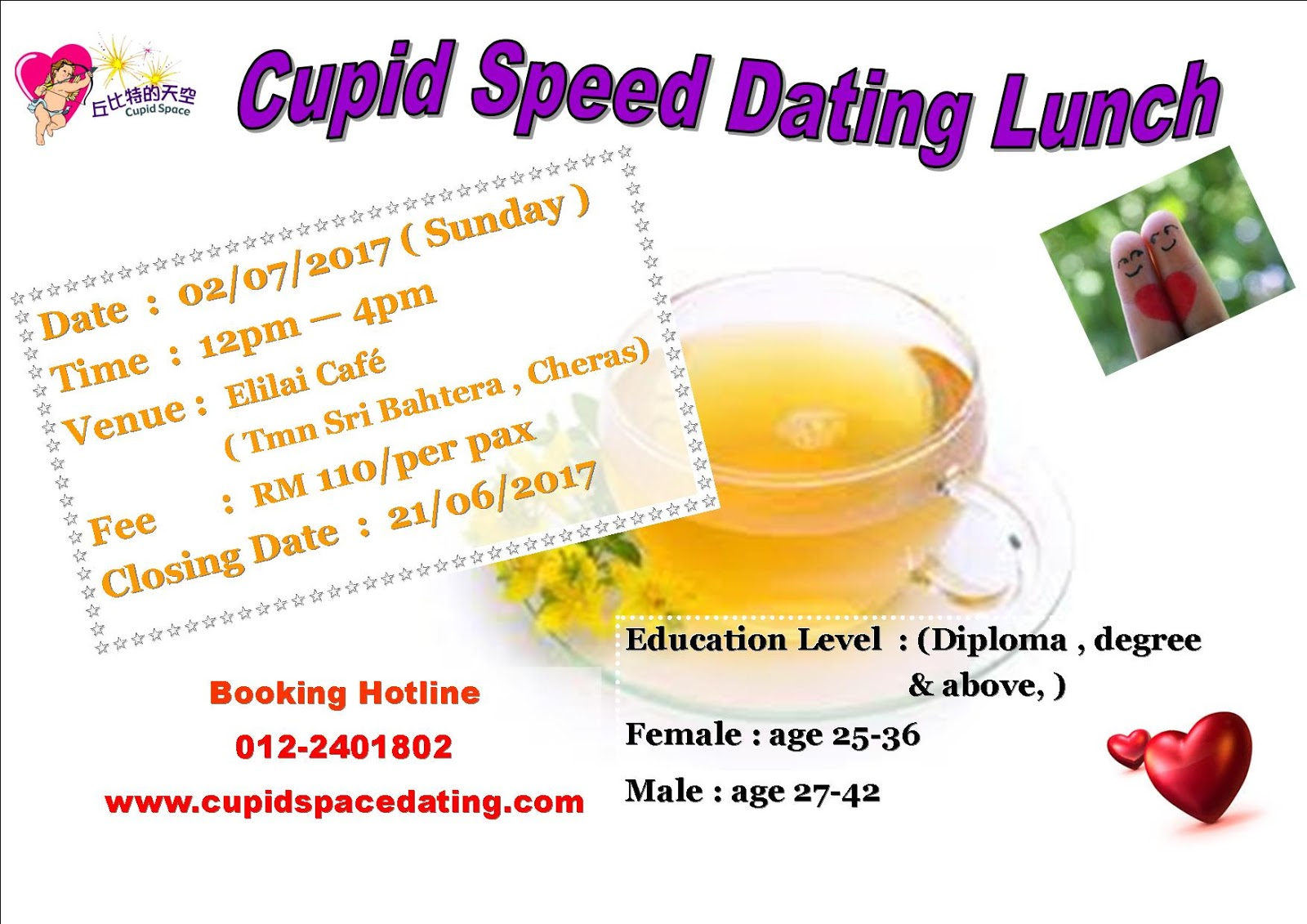 Speed dating cupid