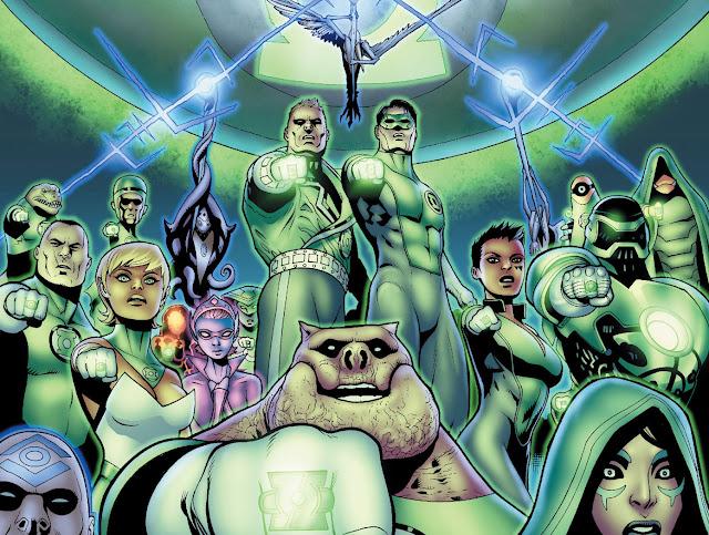 green lantern comics