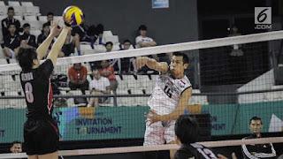 Timnas Voli Putra Indonesia Lolos ke Final Turnamen di Vietnam
