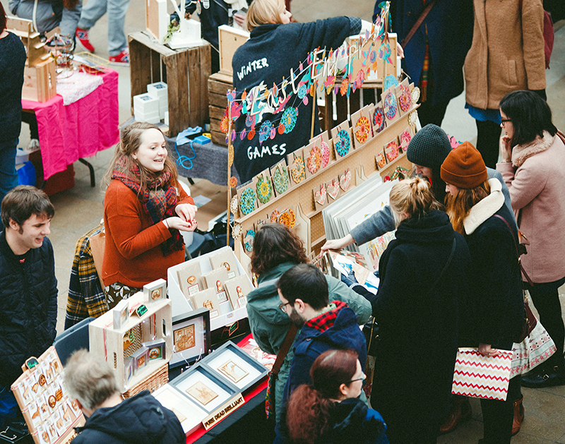 Shop Scottish Glasgow Christmas Markets Craft Fair Hypermarket Gift Shop | Colours and Carousels - Scottish Lifestyle, Beauty and Fashion blog
