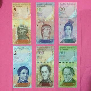 bộ tiền venezuela