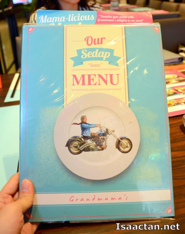 Grandmama's Menu Book