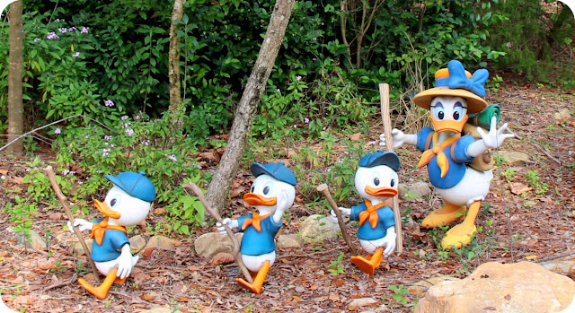 Disney´s Animal Kingdom Camp Minnie Mickey Greetings Trails Campo Minnie e Mickey Margarida com Huguinho Zézinho e Luisinho