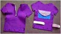 Mainan Bayi Flanel Menjahit Baju Plus