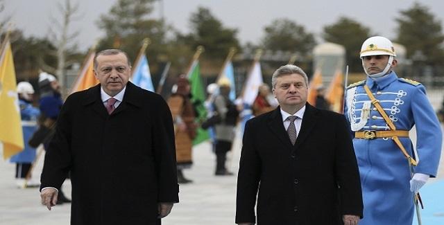 Απορρίπτει την αλλαγή Συντάγματος της πΓΔΜ ο Γκιόργκι Ιβάνοφ - Στήριξη από Ερντογάν