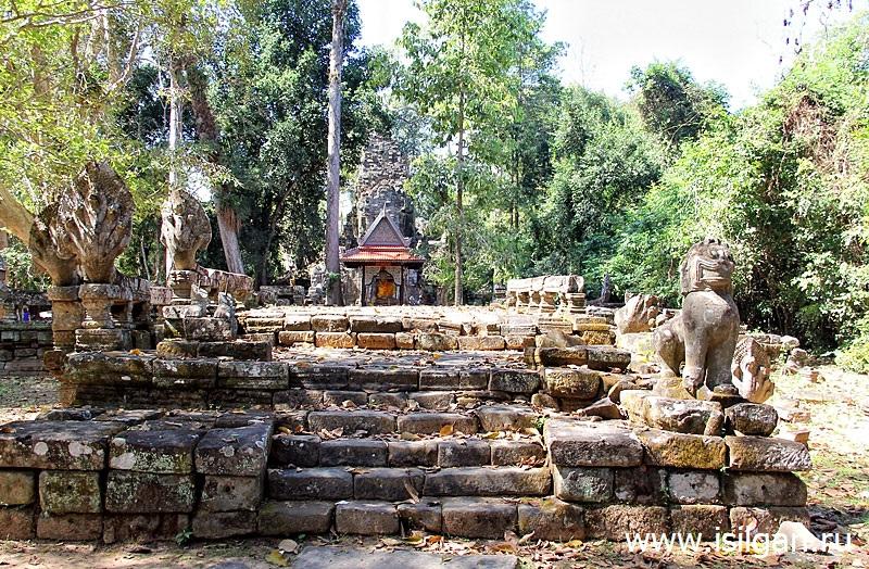 Преа, Палилай, Preah Pallilay, Камбоджа, Cambodia, Siem, Reap, Angkor