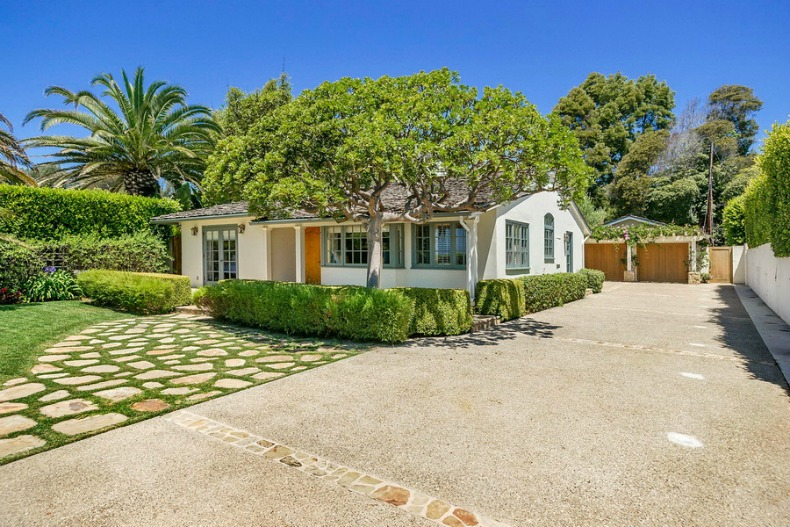Santa Barbara beach cottage tour