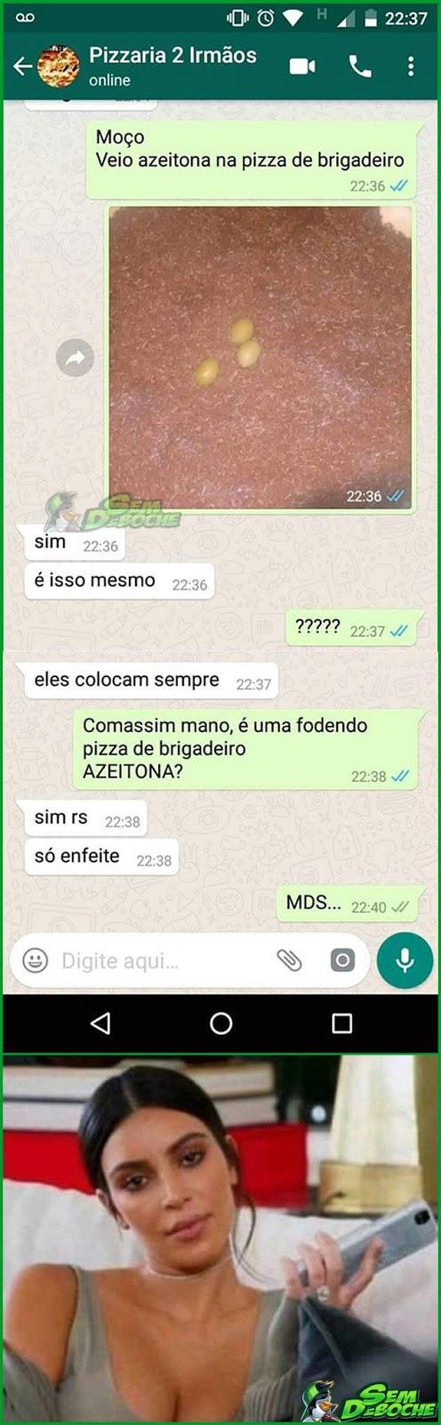 É SÓ DE ENFEITE