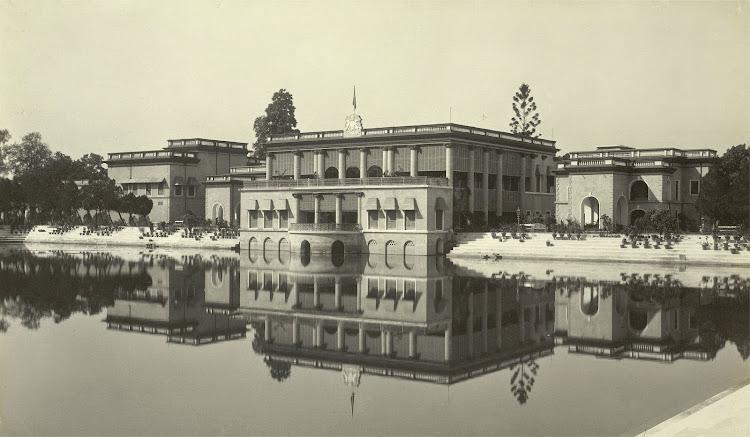 Darul Bahar, within the Dilkusha Gardens - Burdwan (Bardhaman), Bengal, 1904