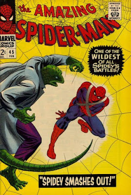 Amazing Spider-Man #45, the Lizard is back
