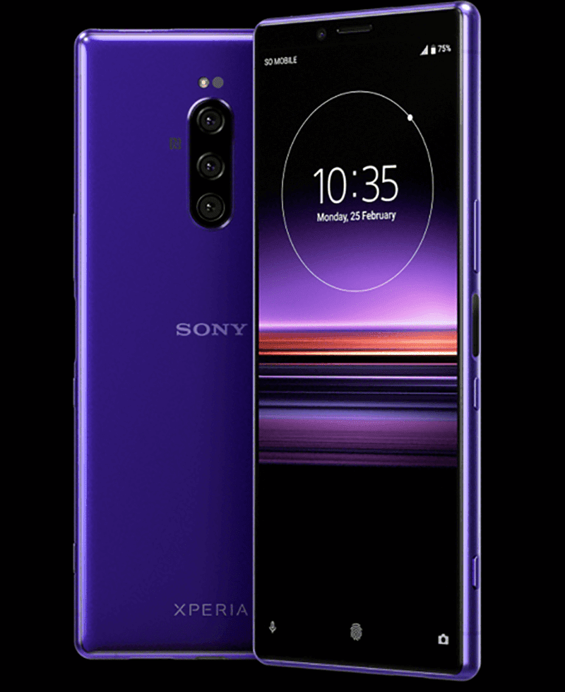 Render of Sony Xperia 1
