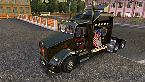 Kenworth T800 USA Metallic paintjob