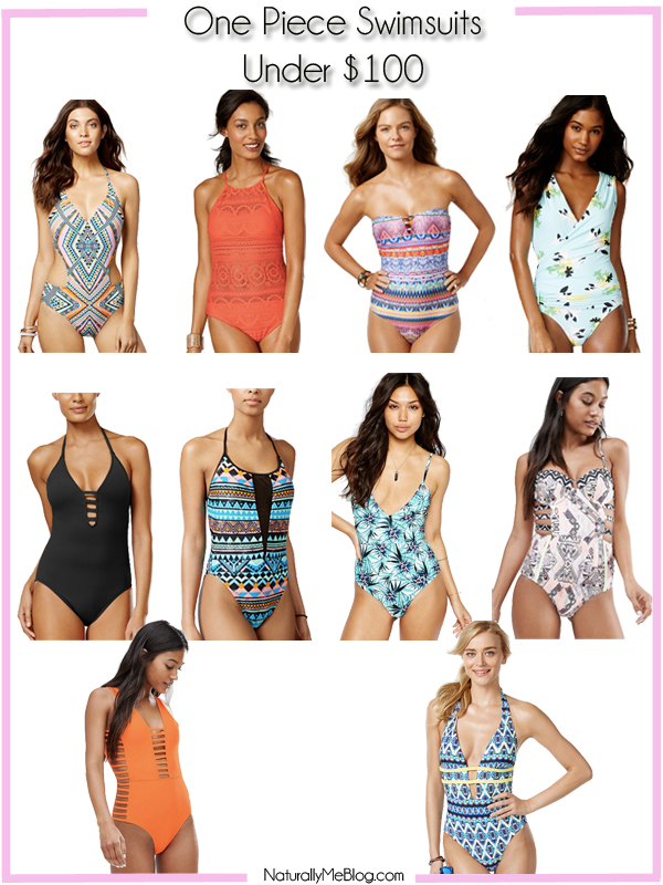 Summer, swimsuits, One piece swimsuits, ASOS swimsuits, Target swimsuits, crocheted swimsuits