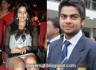 Cricketer Virat Kohli Girlfriend