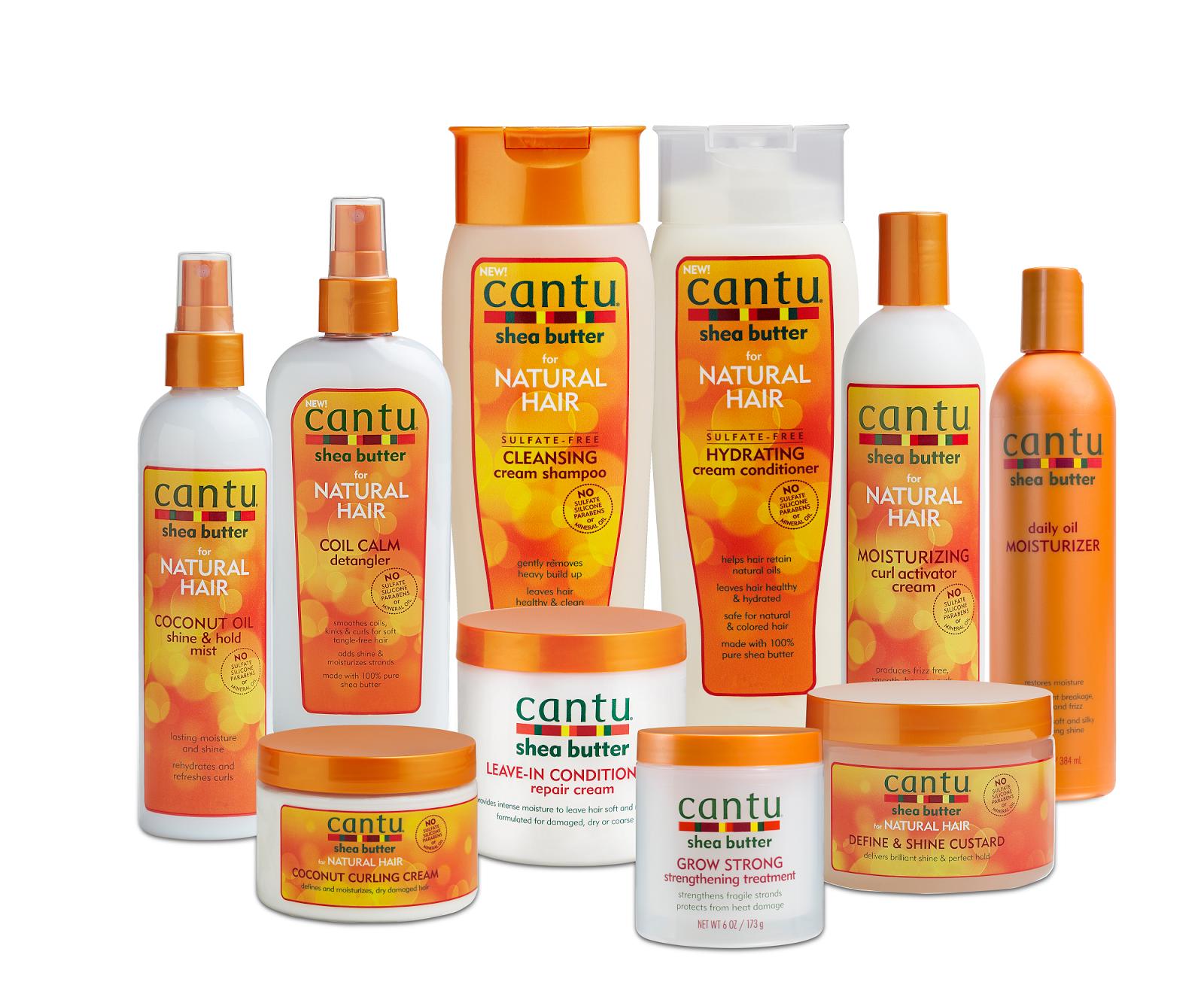 Frumpy To Funky Cantu Haircare Launches Into Uk