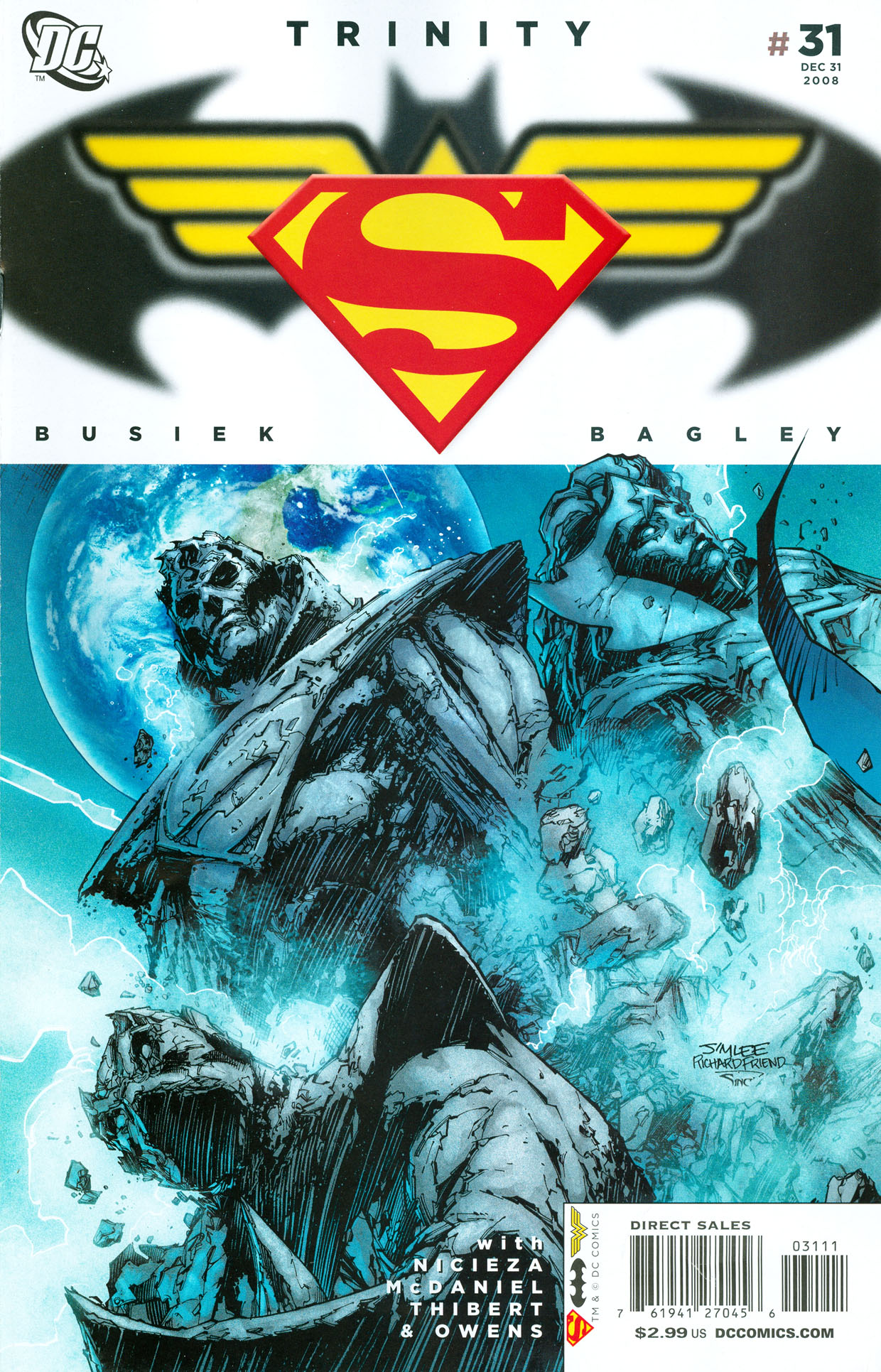 Read online Trinity (2008) comic -  Issue #31 - 1
