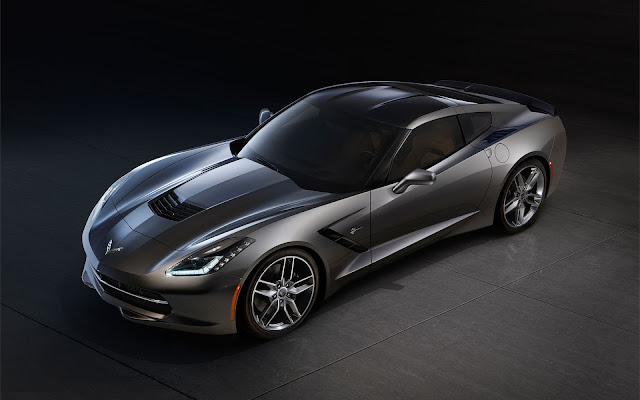 The 2014 Chevrolet Corvette Stingray - Wallpaper front