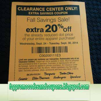 picture about Carson Pirie Scott Printable Coupons referred to as Free of charge Promo Codes and Coupon codes 2019: Carson Pirie Scott Discount codes