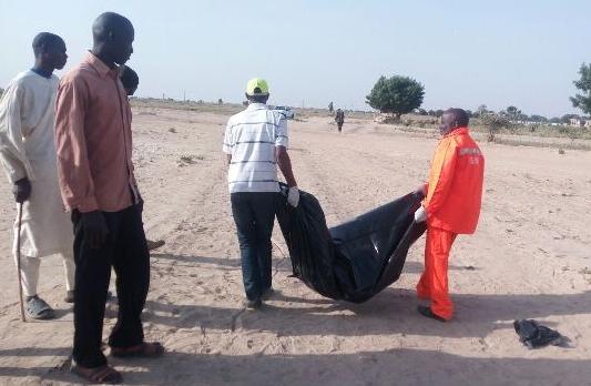boko haram suicide bomber blow up 13 pickup trucks