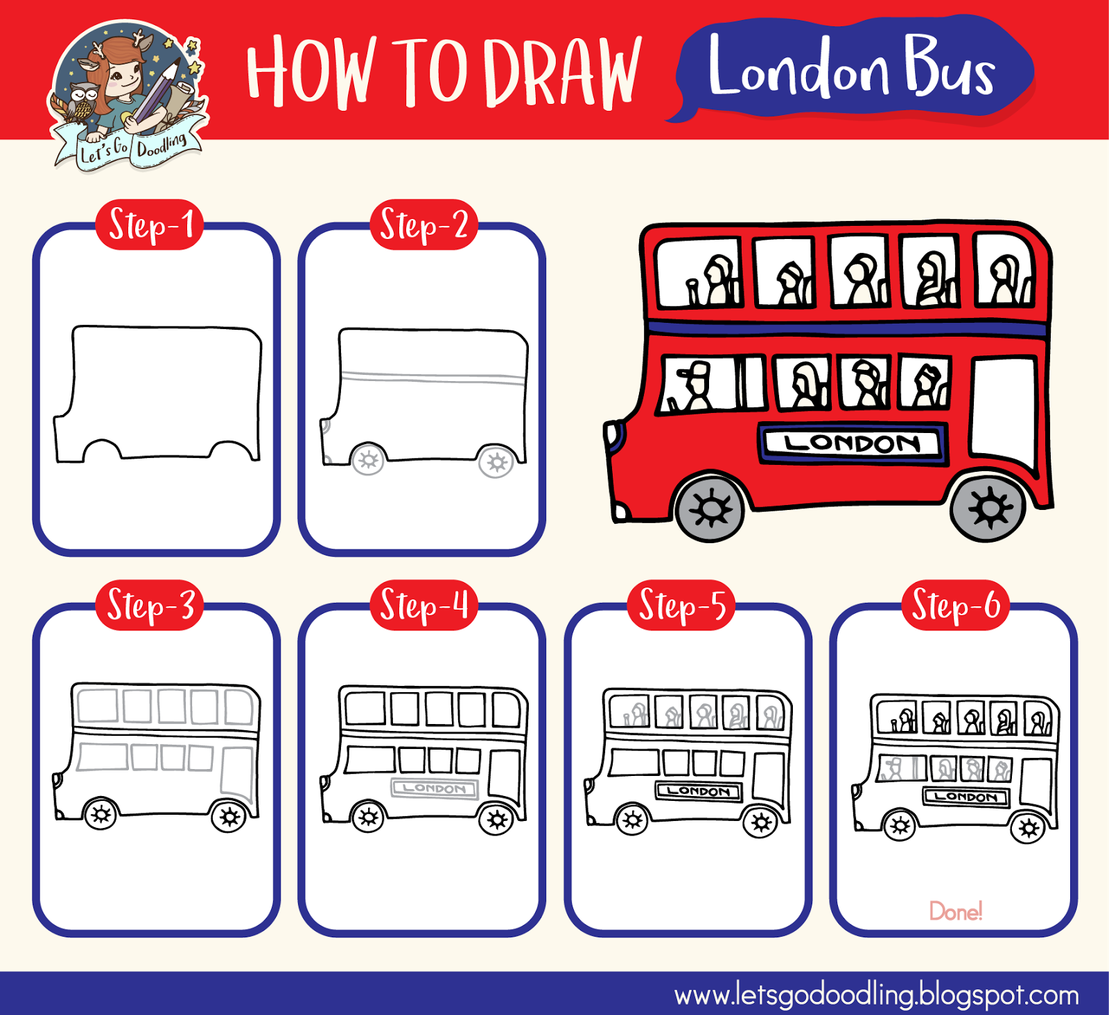 how to draw the tower of london step by step