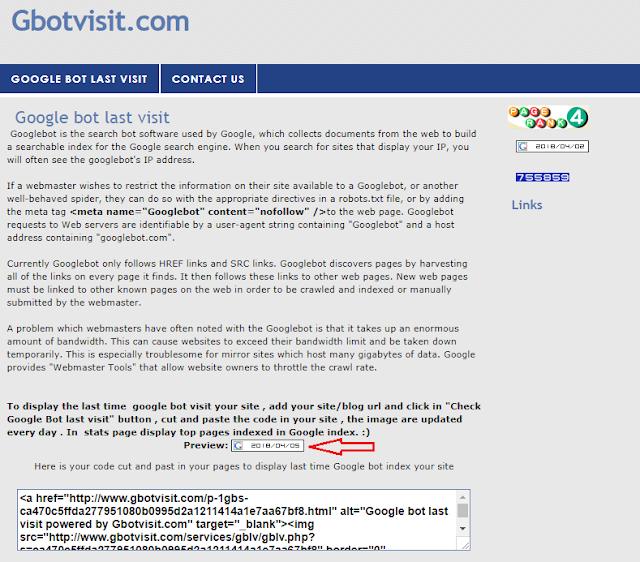 Cara Mengetahui Kunjungan Terakhir Googlebot Ke Website Anda Cara Mengetahui Kunjungan Terakhir Googlebot Ke Website Anda